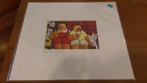 Kuen Stephanie Border Print (L) RM35