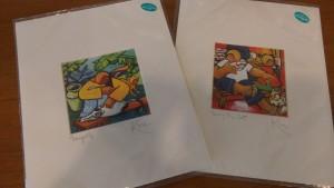Kuen Stephanie Border Print (M) RM30