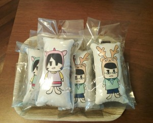 Shya Draw Pillow Key Chain RM 10