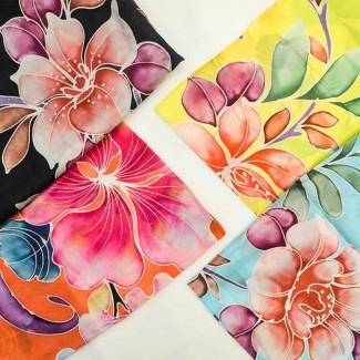 batek-lah silkscarf