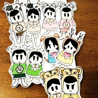 draw stickers