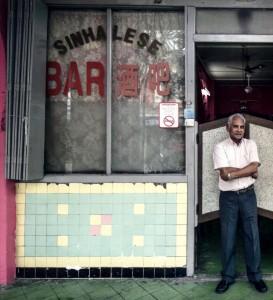 Alfred Perera, Sinhalese Bar, Treacher Street, Ipoh