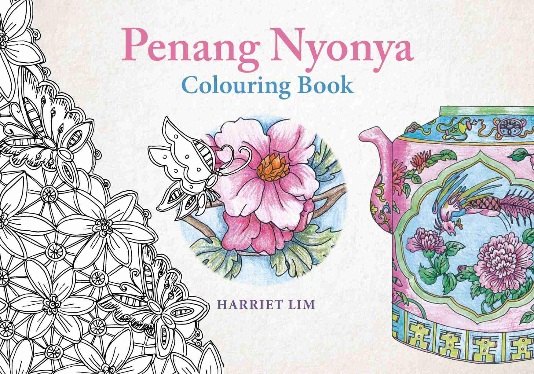 Penang Nyonya Colouring Book   Areca Books  