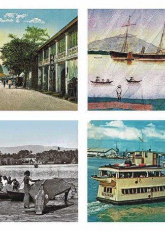 4 SP postcards