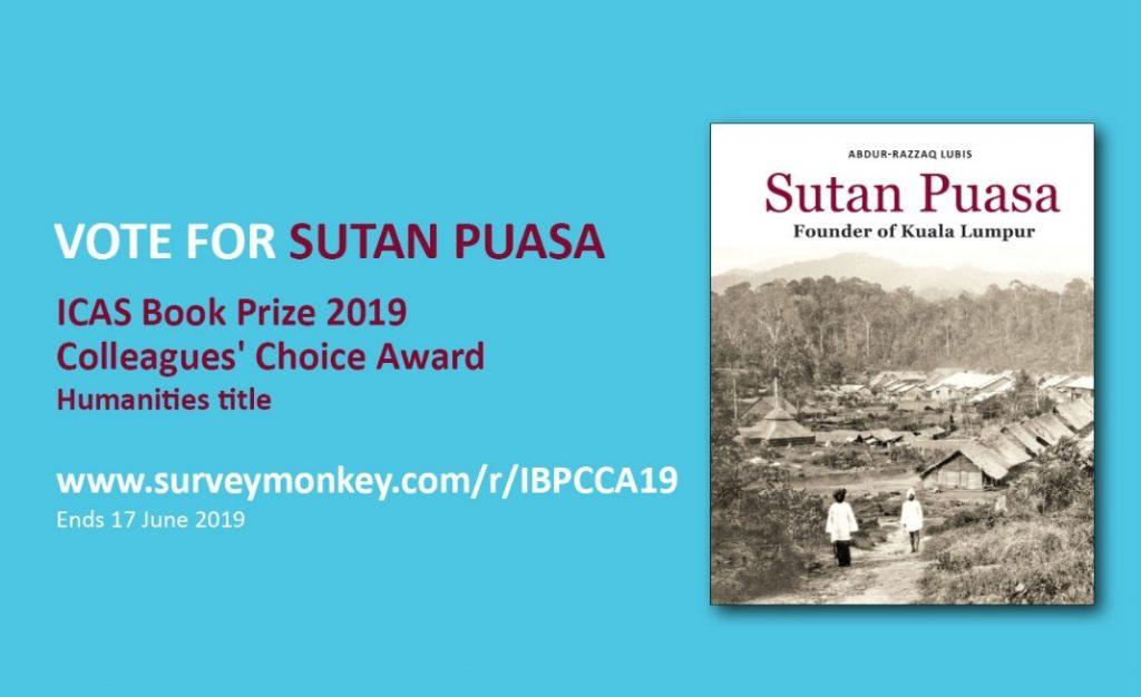 Sutan Puasa: The Founder of Kuala Lumpur', is the sole Malaysian